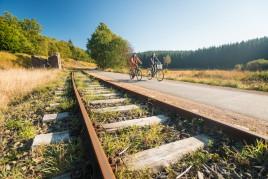 La piste cyclable de la Vennbahn